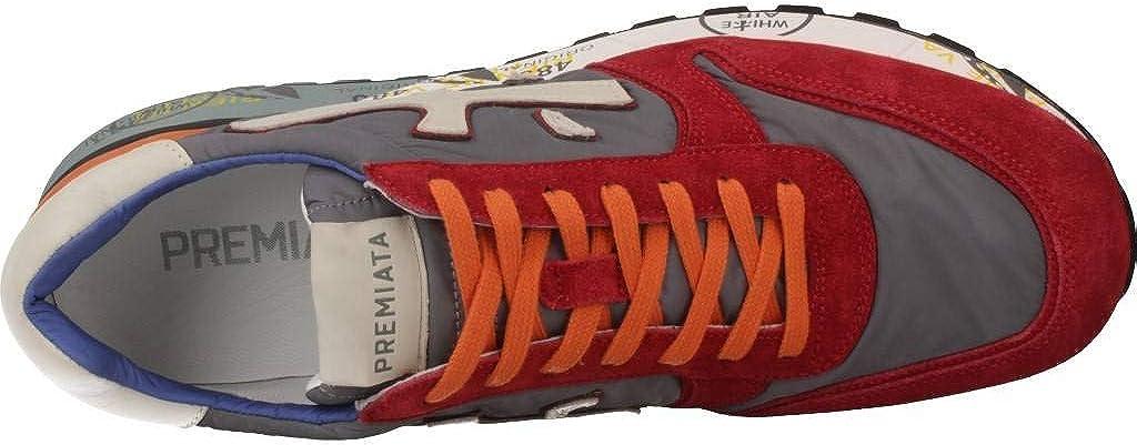 Premiata red Mick 1281E Sneaker