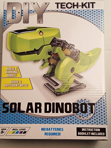 Kids Teens Unisex Boys DIY Assembly Solar DINOBOT Robotic Kit Robot Perfect Education Tool Toys - Dinobot Kit