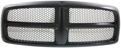 New Front Grille For 2002-2005 Dodge Ram 1500 2500 Without Chrome With Black Frame With Black Honeycomb CH1200331
