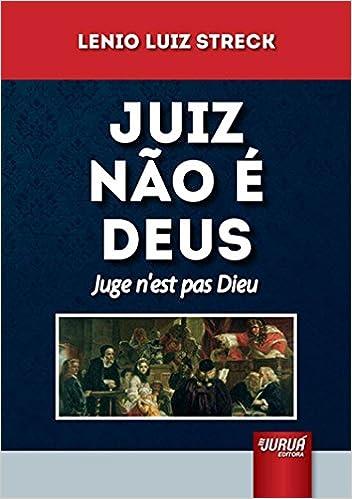 Book Juiz Nao e Deus - Juge N« Est Pas Dieu