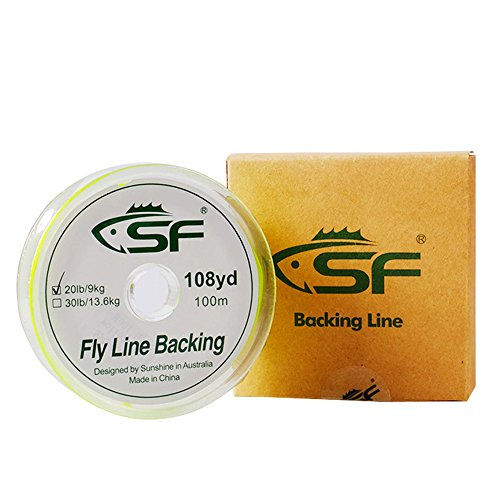 SF Braided Fly Fishing Trout Line Backing Line