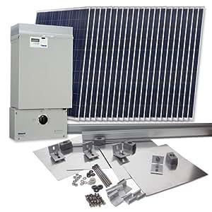 Grape Solar GS-5060-KIT Residential 5,060 Watt Grid-Tied Solar Power System Kit