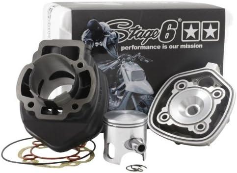 Zylinderkit Stage6 Streetrace 70cc Guss D 47mm Für Piaggio Lc Auto