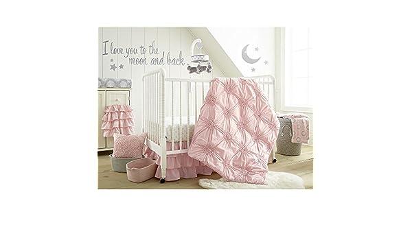 Levtex Home Baby Willow 5 Piece Crib Bedding Set White