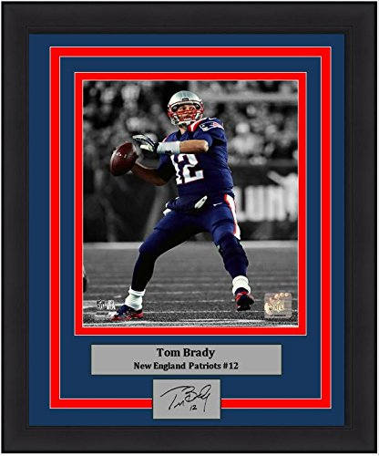 new products fb1b4 8f597 Amazon.com: Patriots Tom Brady Spotlight 8