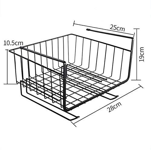 Shelf Storage Racks Pot Rack Storage Basket Shelf Baskets Oven Stand Kitchen Finishing Rack Separation Layer Hanging Basket Iron Art Storage Rack ZHAOYONGLI by ZHAOYONGLI-shounajia (Image #3)