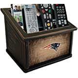 Fan Creations N0765-NEP New England Patriots Woodgrain Media Organizer, Multicolored