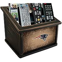 Fan Creations N0765-NEP New England Patriots Woodgrain Media Organizer, Multicolored