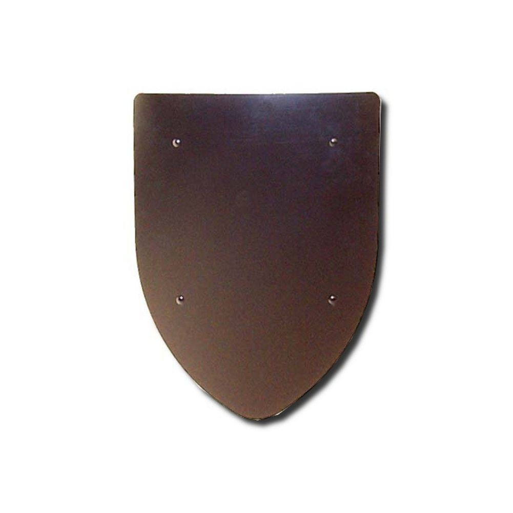 Armor Venue Blank Shield - Custom - 16 Gauge Steel - Natural - One Size