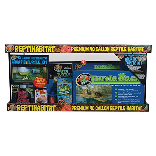 Zoo Med 26341 Reptihabitat Aquatic Turtle Kit by Zoo Med