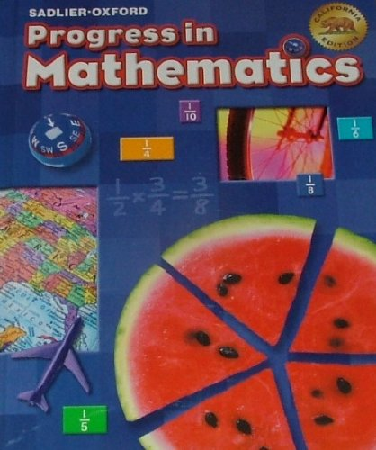 Progress in Mathematics by Sadlier-Oxford (California Edition) Grade 5
