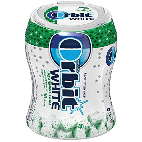 Orbit White Spearmint Soft Chew Gum, 40 count per pack -- 16 per (Orbit White Spearmint)