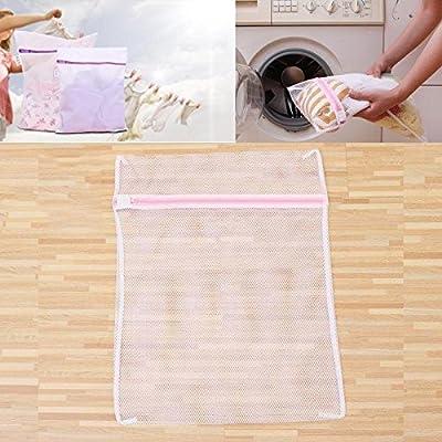 économiseur de à linge de lavage pour Home Care Trousse de toilette zippée en maille filet Vêtements Aspirateur
