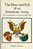 The Rise and Fall of an American Army, Shelby L. Stanton, 0891412328