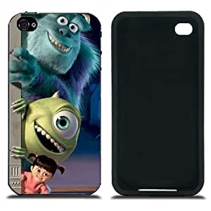 Pink Ladoo? iPhone 4 4s Case Phone Cover Monsters Inc. Michael Wazowski Mikes