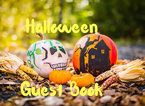 Halloween Guest Book: Guest Book To Write In For Fun And -