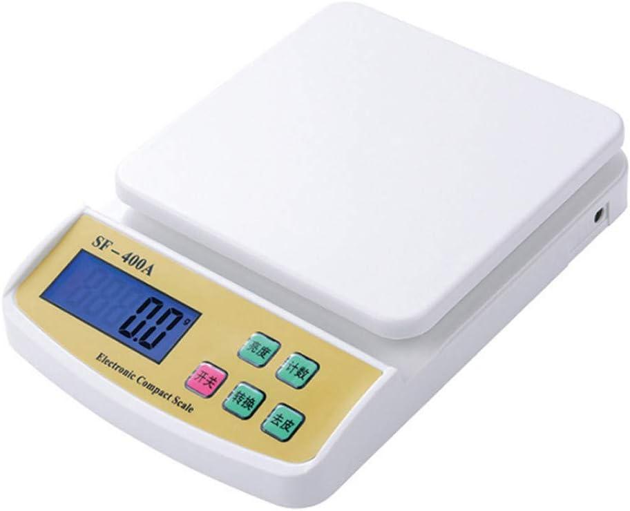 Ln-ZME Balanza Electrónica de Alta Precisión Balanza de Cocina Balanza de Joyería Aspecto Buen, Blanco y Negro como Se Muestra (B)