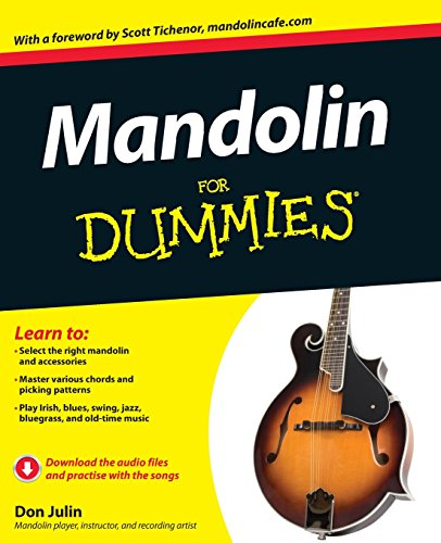 Mandolin For Dummies, Book and Online Video and Audio Instruction