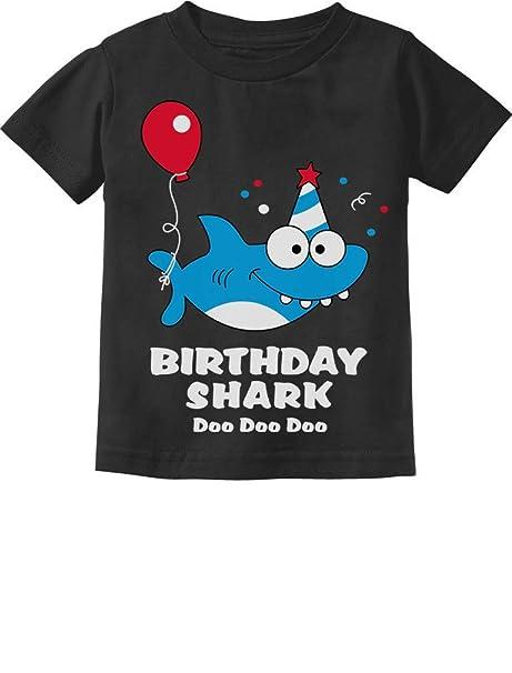 3e8f9b50d Baby Shark Doo doo doo First/2nd Birthday Shark Outfit Infant Kids T-Shirt