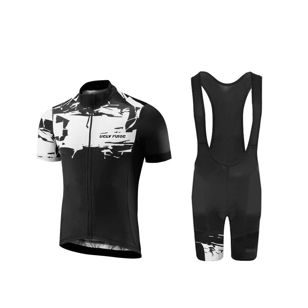 Uglyfrog Bike Wear Radfahren MTB Rennrad Trikots & Shirts Schnelltrocknend Sport Bekleidung Herren Short Sleeve/Fahrradbekleidung Set Triathlon Clothes Summer Style HDX12