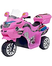 Lil' Rider 3 Wheel Motorcycle Trike for Kids – Battery Powered Ride on Toys for Boys and Girls, 2-5 Year Old - Pink FX