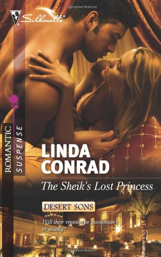 book cover of The Sheikh\'s Lost Princess