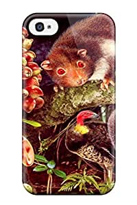 Excellent Design Painting Artistic Abstract Artistic Phone Case For Iphone 4/4s Premium Tpu Case