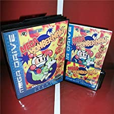 16 Bit Sega MD Game - Mega Bomberman EU Cover with Box and Manual For Sega Megadrive Genesis Video Game Console 16 bit MD card - Sega Genniess , Sega Ninento , Sega Mega Drive