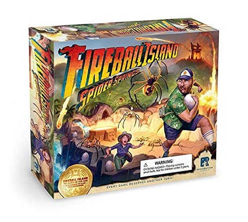 Restoration Games Fireball Island: Spider Springs