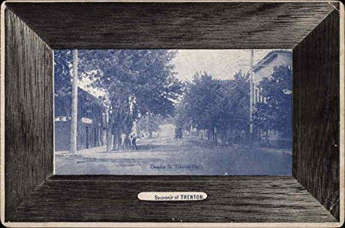 dundas-street-trenton-ohio-original-vintage-postcard