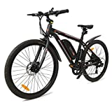 ECOTRIC New Electric City Bicycle Travel 26' Black Bike 350W Motor...