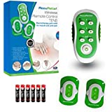 AccuRelief Wireless TENS Electrotherapy Pain Relief System And Wireless Remote Control TENS Supply Kit