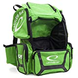 Latitude 64 DG Luxury E3 Backpack Disc Golf Bag (Green/Black)
