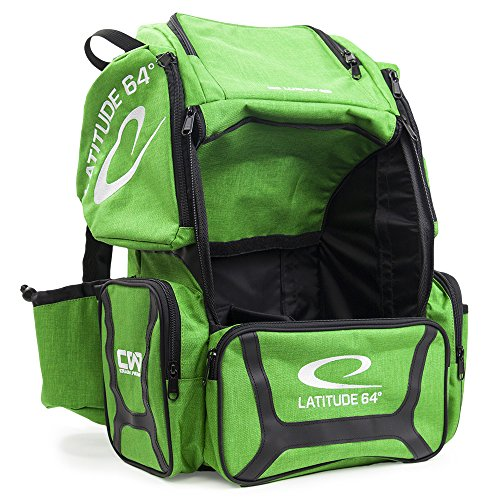 Latitude 64 DG Luxury E3 Backpack Disc Golf Bag (Green/Black) by Latitude 64