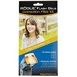 ExpoImaging ExpoImaging ExpoDisc 77mm Pro White Balance Filter V2 and Rogue Flash Gels ColorCorrection Kit Bundle