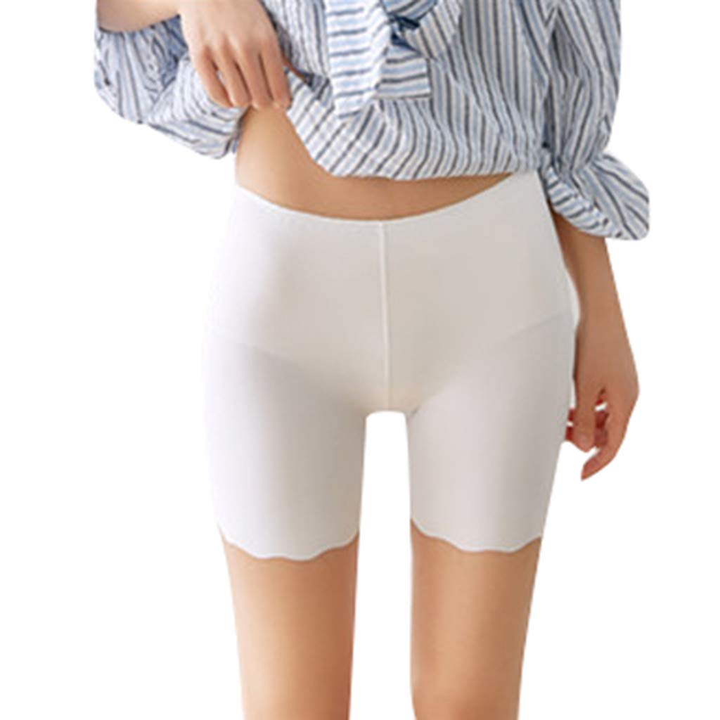 Lingerie for Ladies Women Leggings Pants Casual Solid Stretchy Underwear Shorts Seamless Safety