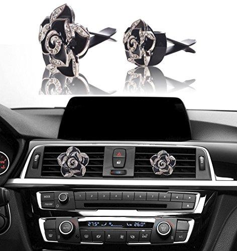[해외]미니 공장 블린 자동차 인테리어 장식, 자동차 에어 벤트 라인 석 다이아몬드 장식/Mini-Factory Bling Car Interior Decoration, Car Air Vent Rhinestone Diamond