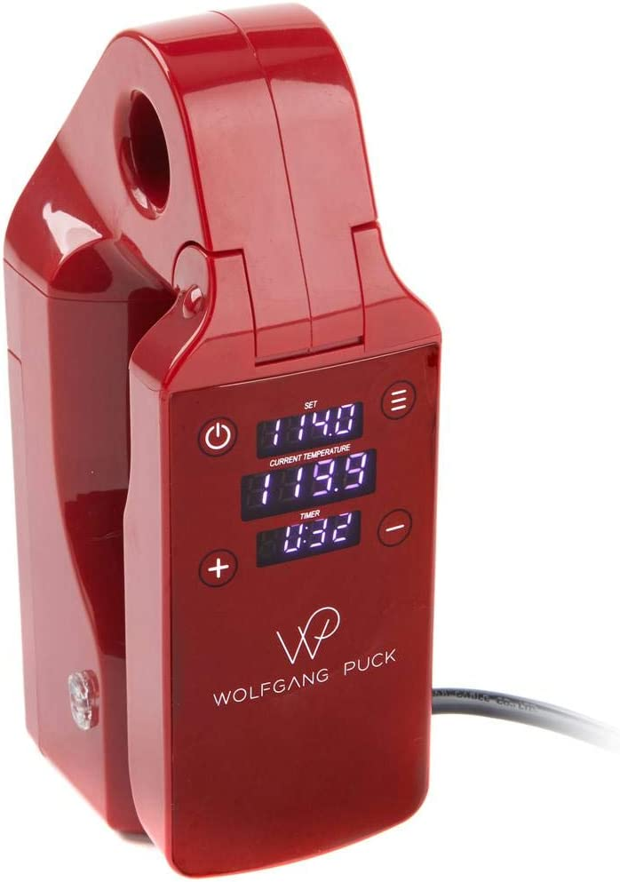Wolfgang Puck Compact Clip Sous Vide Red