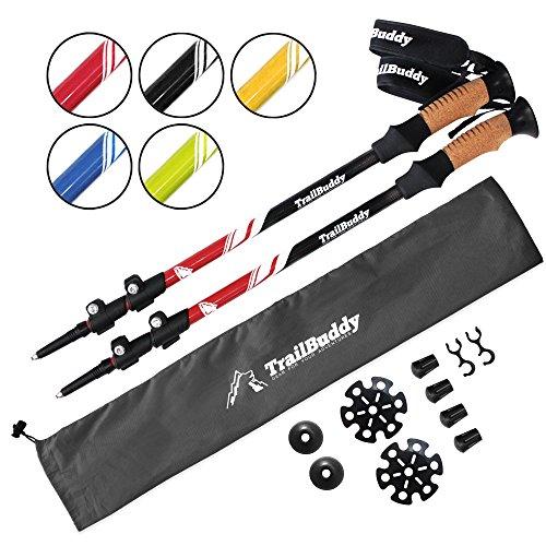 TrailBuddy Trekking Poles Adjustable Lightweight product image