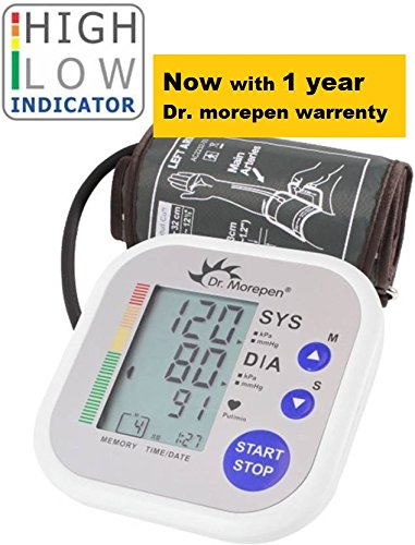 b1c15314545 Buy Dr. Morepen Bp02 Automatic Blood Pressure Monitor Online at Low Prices  in India - Amazon.in