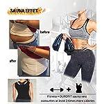 DUROFIT-Canotta-da-Donna-Dimagrante-Maglia-da-Allenamento-da-Donna-Tuta-Canotta-Snellente-Sauna-Compressione-Sportivo-Fitness