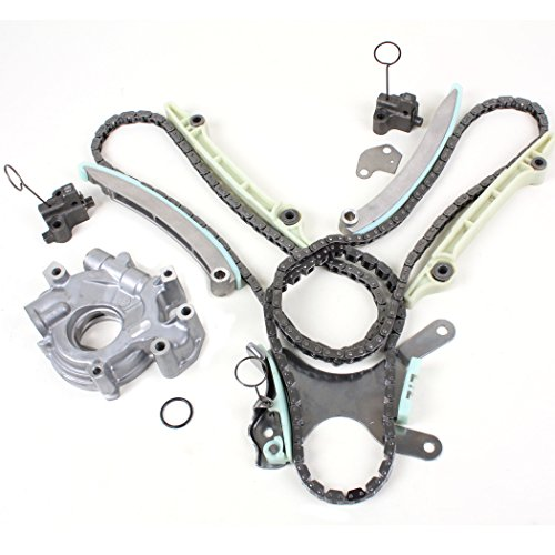 New TK8090OP Timing Chain Kit (without Gears), & Oil Pump Set (Incl. RTV Silicone) for Dodge & Jeep 4.7L 2000-08 (Oil Pump For Dodge Durango 2002 compare prices)