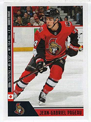 Jean-Gabriel Pageau (Hockey Card) 2018-19 Panini Stickers # 180 ()