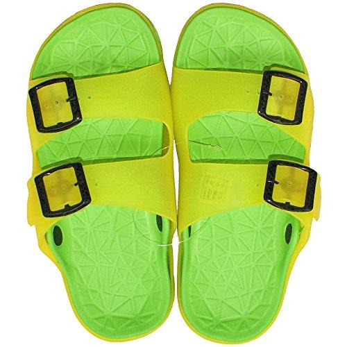 Größe 37 Gelb Badepantoletten Paar Grün 37 1 Damen Gg Badelatschen Freizeitlatschen qxSwTvan