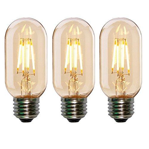 ONEPRE T45 Edison Led Bulb 4W LED Filament Bulb, 40 Watt