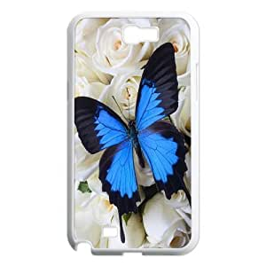 Butterfly Classic Personalized Phone Case for Samsung Galaxy Note 2 N7100,custom cover case ygtg522981