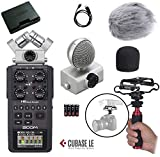 zoom h6 module - Zoom H6 Six-Track Portable Handy Recorder Kit with Deadcat Windscreen, Shockmount, Camera Mount and Mic Grip