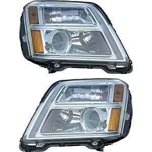 Diften 168-C6192-X01 - New Set of 2 Headlights Driving Head lights Headlamps Driver & Passenger Pair