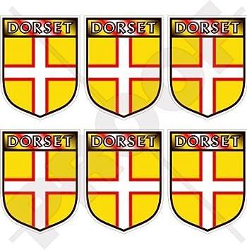 Condado de Dorset Inglaterra British Shield UK Reino Unido 40 mm (1 ...