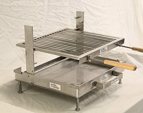 Limited Edition Tuscan Fireplace Grill with FirePan Assembly